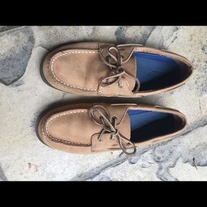 Sperry Top-Sider leather loafers - tan size 7